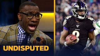 Shannon Sharpe: 'We've never seen anything like Lamar Jackson' | NFL | UNDISPUTED