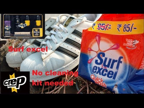 Surf excel magic on Adidas Superstar (hindi)
