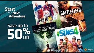 Origin Gamescom Sale Video