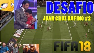 Jugatitan - Programa nº 14 - DESAFIO JUAN CRUZ RUFINO AL FIFA 18 - INTRO A CUPHEAD
