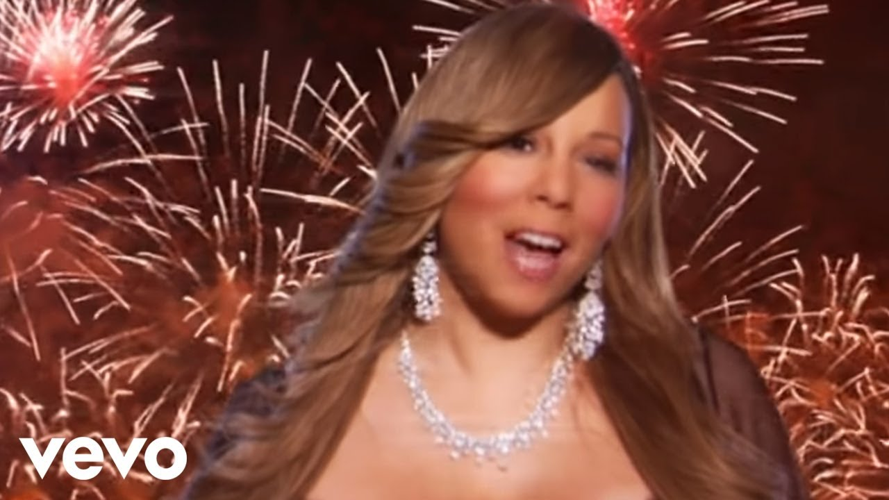 mariah carey auld lang syne the new years anthem fireworks version youtube