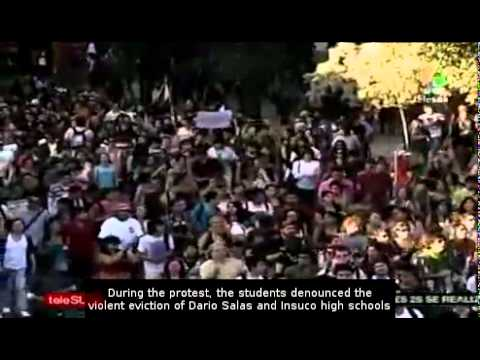 Latin-American day of protest in Chile and Colombia