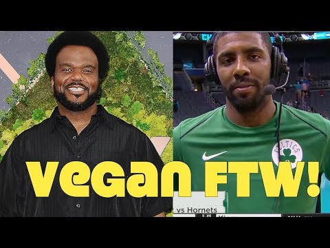 Craig Robinson & Kyrie Irving Go Vegan!
