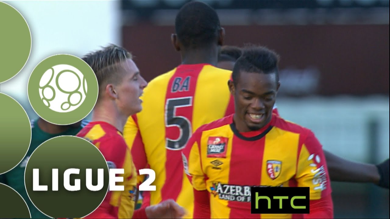 red star f c - rc lens  1-2  - r u00e9sum u00e9 -  red   2015