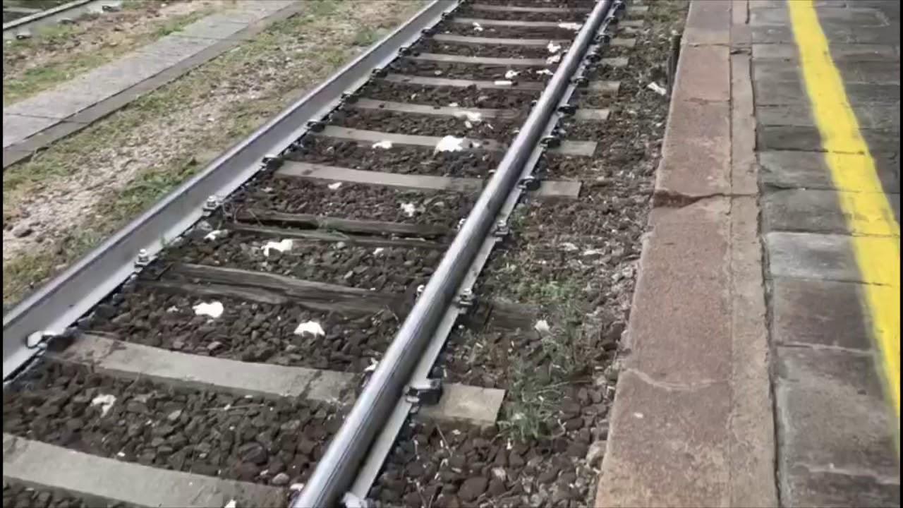 Sporcizia sui binari stazione Domodossola