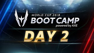 Download Video RoV : World Cup Bootcamp 2018 (Group Stage) Day 2 MP3 3GP MP4