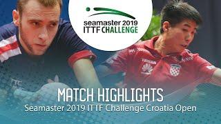 Александр Шибаев vs Wei Shihao | Croatia Open 2019 (R32)