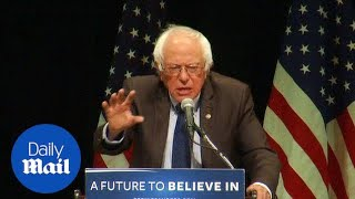Bernie Sanders vows to fight on: 'We want real change!' - Daily Mail