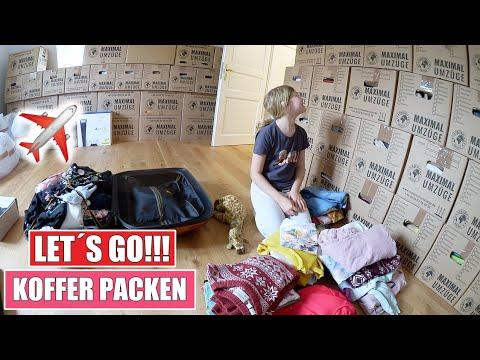 ES GEHT LOS 😱 Letzte Nacht im Haus & Koffer packen | Isabeau
