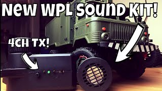 WPL New products! Sound Kit + 4 Channel Transmitter! Exclusive look!