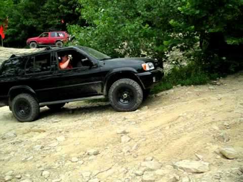 My 01 Nissan Pathfinder At Badlands Youtube