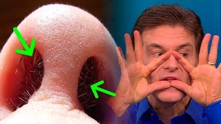 Plucking Your Nose Hairs Can Kill You, Here's Why...