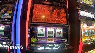 VGT SLOTS - $100 MAX BET + 6 JACKPOTS + VULTURE TECHNIQUE AT RIVERWIND CASINO