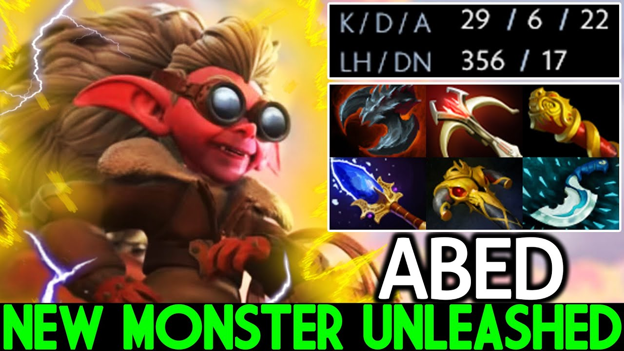 ABED [Snapfire] New Monster Mid Unleashed Insane Carry Build Dota 2 thumbnail