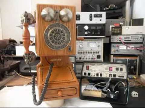 crosley old time wood wall telephone repair www a1 618 235 6959 youtube. Black Bedroom Furniture Sets. Home Design Ideas