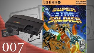 Super Star Soldier [007] TurboGrafx-16 Longplay/Walkthrough/Playthrough (FULL GAME)