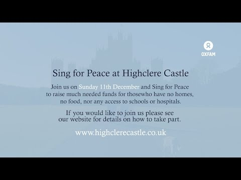 Sing For Peace at Highclere Castle