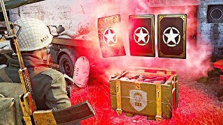 I SAVED ALL MY SUPPLY DROPS from the start of Call of Duty WW2..