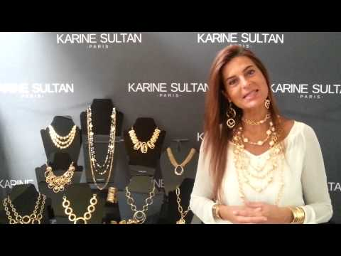 Karine Sultan Designer Jewelry Paris Los Angeles Wholesale Retail