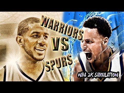 San Antonio Spurs vs Golden State Warriors | FULL GAME | February 10 | NBA 2K18