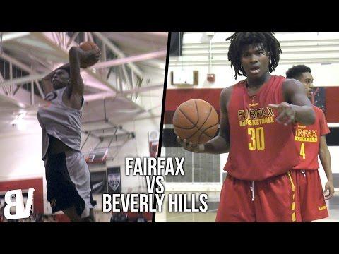 Fairfax VS Beverly Hills Scrimmage Highlights | High School Pre-Season