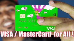 How to get a FREE VISA / Master Card - Top 10 International Cards For All Countries