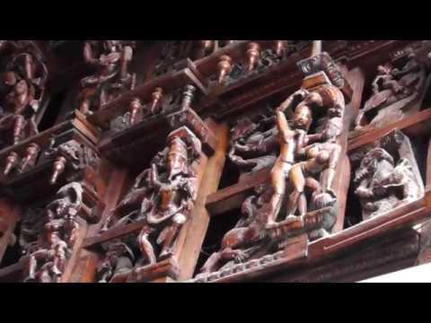 ???????????? ?????? ???????????? ?????????? | NellaiAppar Kovil Wooden Carvings at entrance