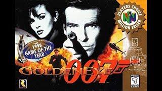 James Bond Goldeneye 007 N64 IN HD Agent