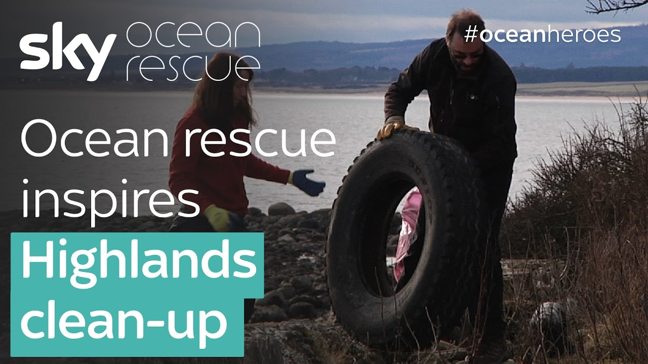 Ocean rescue inspires Highlands clean-up - YouTube 7269e8375