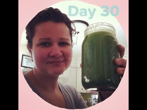 Results of 30-Day Green Juice Cleanse