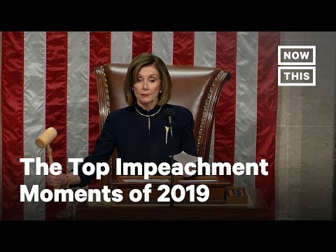 The Top Impeachment Moments of 2019 | NowThis