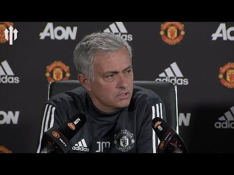Jose Mourinho Press Conference LIVERPOOL VS MANCHESTER UNITED 'I'll Play 9 Strikers'