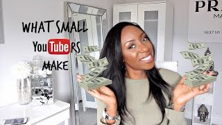 Video How Much Money Do YouTubers Make? Real Earnings For A Small YouTube Channel download MP3, 3GP, MP4, WEBM, AVI, FLV Juli 2018