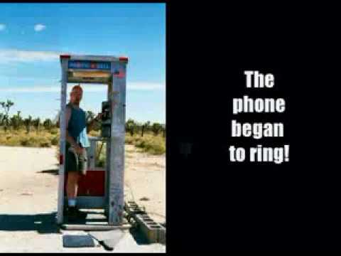 The Last Visitors to the Mojave Desert Phone Booth