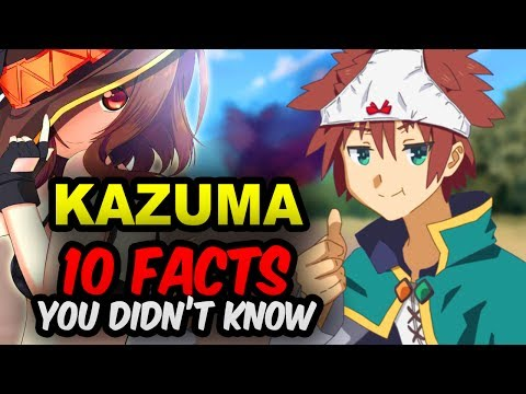 10 Kazuma Facts You Didn't Know! KonoSuba Facts