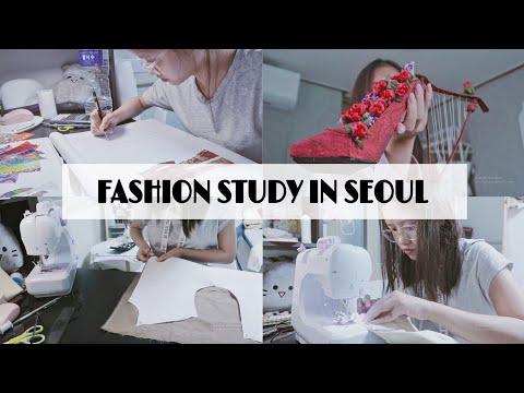 LIFE OF A SEOUL FASHION STUDENT // thiết kế, in 3D, cắt may sản phẩm cuối kì | Ly Nguyễn