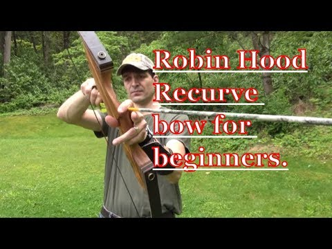 How to shoot a bow and arrow for beginners