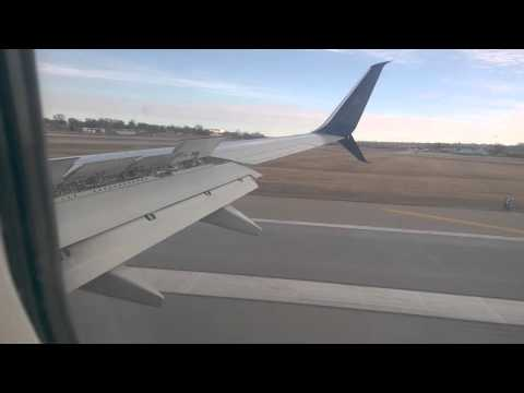 Delta Flight over Minneapolis, MN and Landing at MSP airport