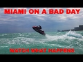 JET SKI JUMPS HUGE 6 FEET WAVES