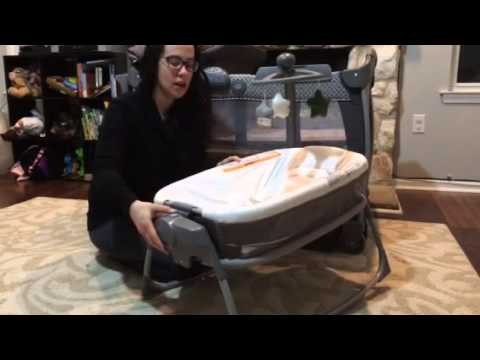 bc92a8649090 Graco® Pack  n Play® Playard Nearby Napper™ - YouTube