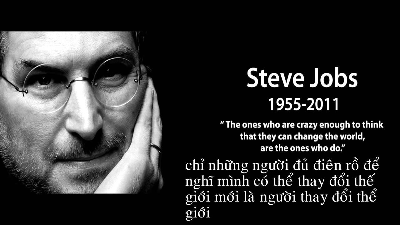 Những danh ngôn, Câu nói kinh điển của tỷ phú Steve jobs-Steve jobs quotes - YouTube