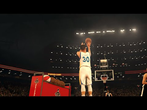 NBA 2K17 - EPIC 3 Point Contest feat. Steph Curry, Lillard, Kemba, Irving, Jr Smith, & More!! HD