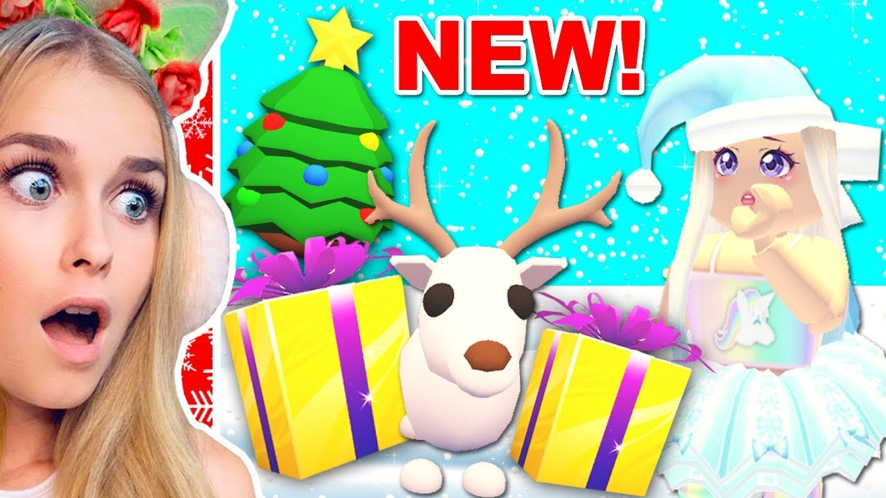 New Legendary Pets And Items In New Christmas Update In Adopt Me Roblox Youtube