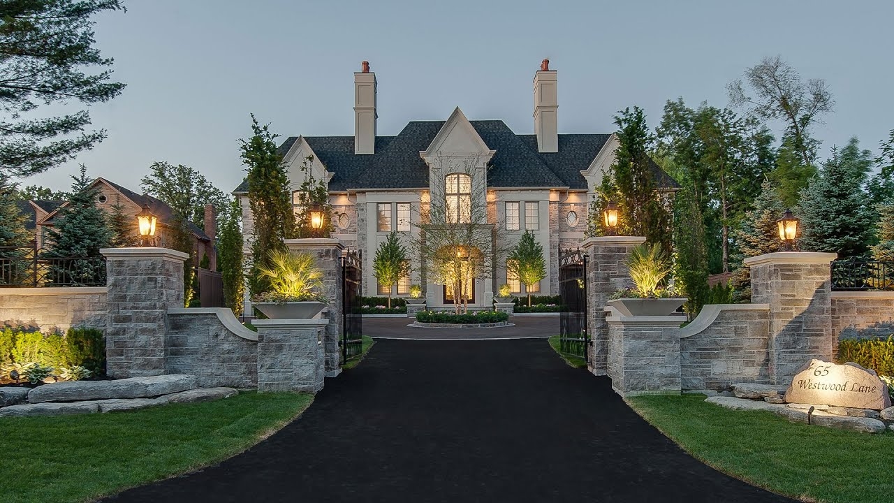 Luxury Mansions: 65 Westwood Lane Video Tour