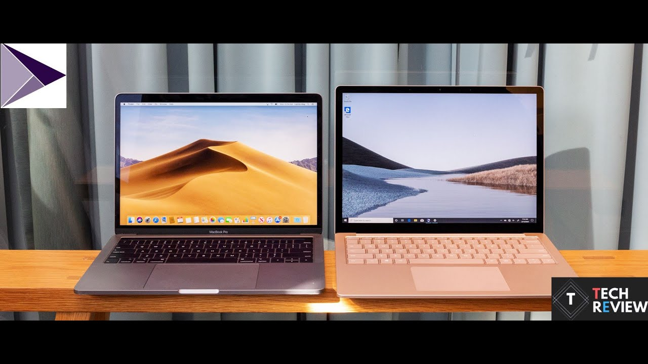 MacBook Pro 2020 vs Surface Pro 7 -Full Comparison - YouTube
