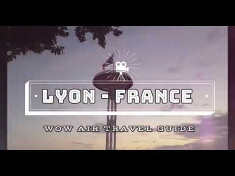 WOW Air Travel Guide Application - Lyon, France