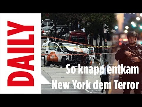New York entkommt dem Terror - Explosion in Manhattan / BILD Daily 11.12.17