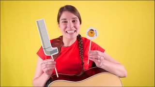 Caitie's Classroom Live - The Itsy Bitsy Spider & Earth Day Song!