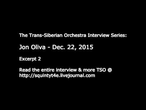 Jon Oliva Interview: Touring with TSO  - Dec. 22, 2015 - Trans-Siberian Orchestra