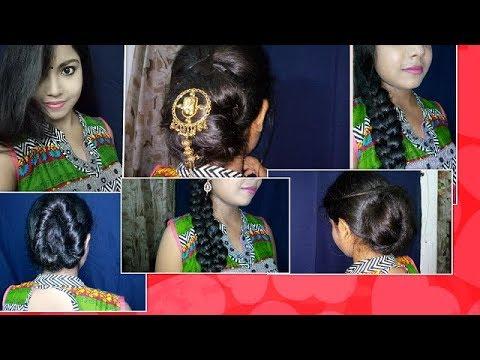 Karwa Chauth Ke Liye Easy Hairstyle
